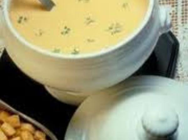 Grandma's Broccoli & Cheese Soup Recipe