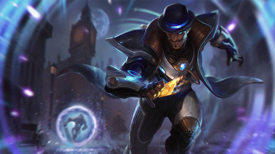 Trang phục Twisted Fate Vũ Khí Tối Thượng - Pulsefire Twisted Fate skin