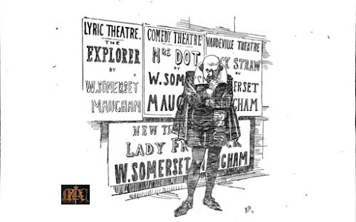 Punch cartoon Shakespeare Maugham