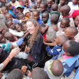 Simona al suo arrivo in Kenya