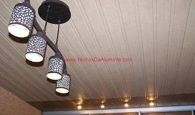 Foto de techos de aluminio para baños Madrid