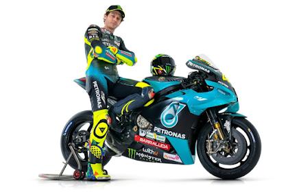 Rossi Gabung, Motor M1 Yamaha Petronas Makin Dilirik Sponsor
