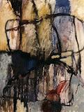 exode 3 / huile toile / 60x80 / 1999