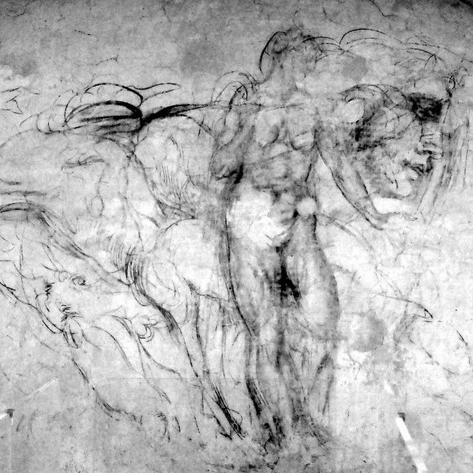 Michelangelo's Hidden Drawings at Medici Chapels