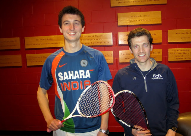 Open 5.5: Champion - John Roberts (Harvard Club); Finalist - Ryan Thompson (SquashBusters/Union Boat Club)