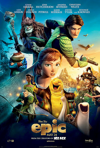 Το Μυστικό Βασίλειο του Δάσους Epic Movie Poster