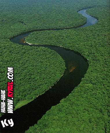 sungai kongo [info]10 Sungai Terpanjang di Dunia