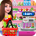 Supermarket Shopping Cash Register Cashier Games icon