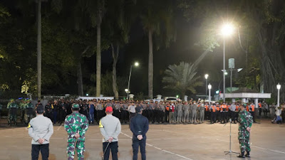 Danrem 061/Sk Pimpin Apel Partroli Bermotor bersama Forkopimda Kota Bogor