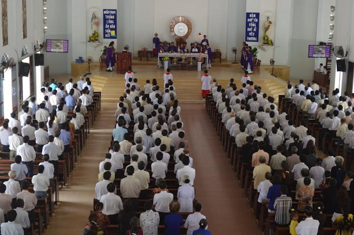 HĐGX Hai Giáo Hạt: Cam Ranh và Cam Lâm tĩnh tâm mùa Chay năm 2013 tại Giáo xứ Hòa Nghĩa