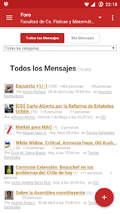 U-Cursos- screenshot thumbnail