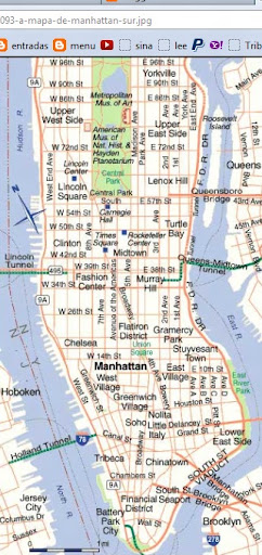 Manhattan, Nueva York | MAPAS DE