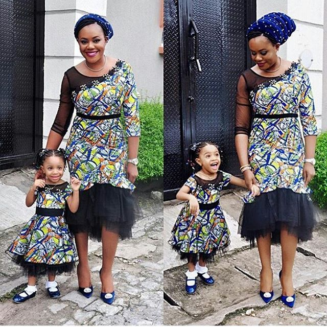 THE ENVIABLE ANKARA LADIES STYLES YOU SHOULD STEAL FROM MUM AND DAUGHTER IN 2018 8