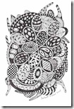 360 Zentangle Eggs