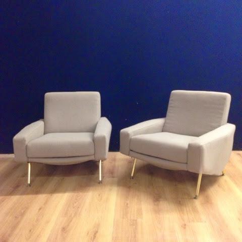 fauteuil airborn de pierre guariche p cheur de lune. Black Bedroom Furniture Sets. Home Design Ideas