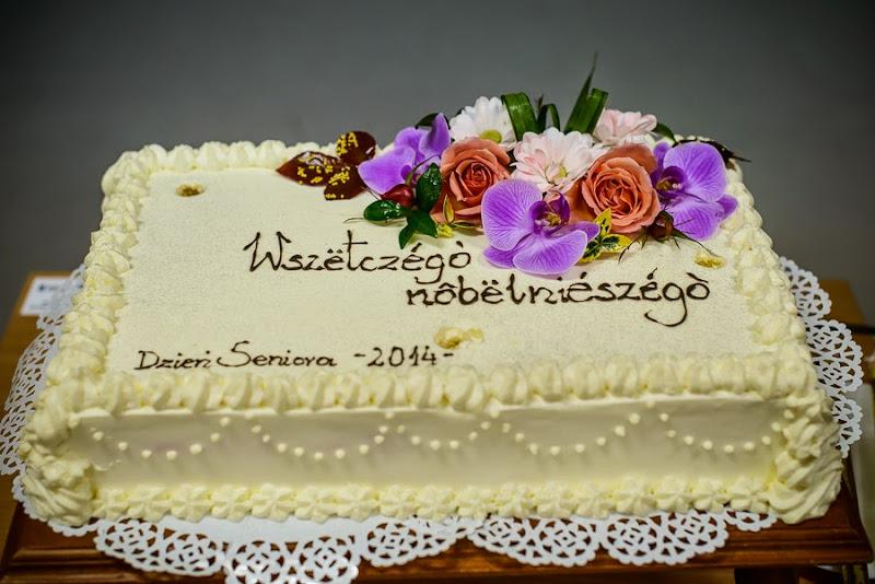 Sychowo dzień seniora 2014 tort