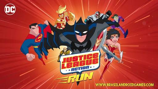Justice League Action Run Imagem do Jogo