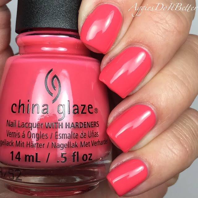 Aggies do it better china glaze seas and greetings collection for tis the sea sun m4hsunfo