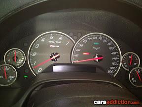 Corvette Z06 Dash