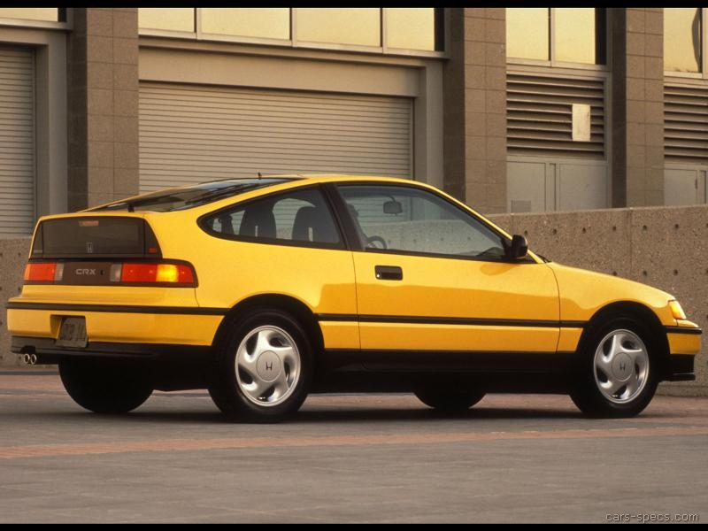 1991 honda civic crx hatchback specifications pictures prices. Black Bedroom Furniture Sets. Home Design Ideas