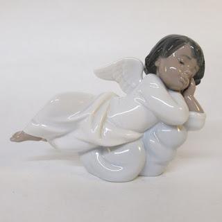 Lladró Little Angel Figurine
