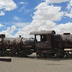 Uyuni - Eisenbahnfriedhof