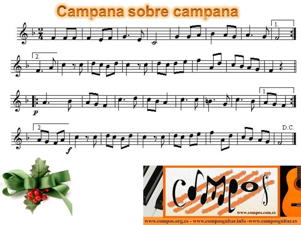 Campanas De Belén Campana Sobre Campana Compos Guitar