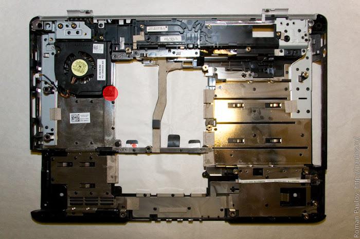 Как разобрать ноутбук Dell Inspiron 1525 60
