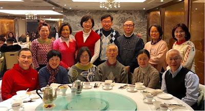 邵百冇訪港,2月4日和同學在星光行潮庭歡聚