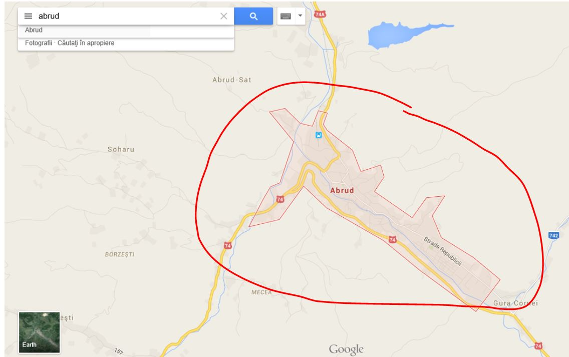 How to get Google Maps to Show city or an Area outline   Google
