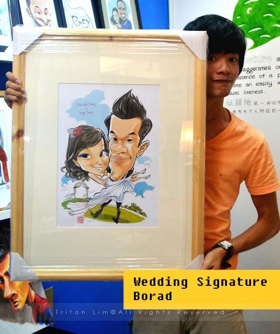 ... Artist Malaysia Triton Lim: Wedding Gift for Port Dickson Couple