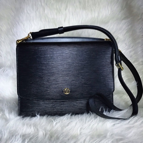 5eb57f7499db Gracie Hour N A Louis Vuitton Biface Epi Leather Sling Bag