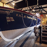 The Thomas Kirk Wright inside Poole Old Lifeboat Museum