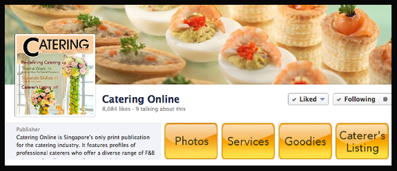 Catering Online Facebook