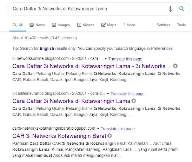 Cara Daftar 3i Networks di Kotawaringin Lama
