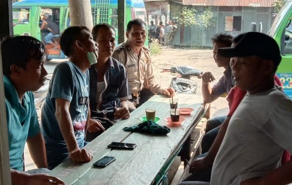 Kapolres Tanjung Balai Menginstruksi kepada Semua kanit dan Jajaran Polres TB Harus Selalu Menyapa Warga