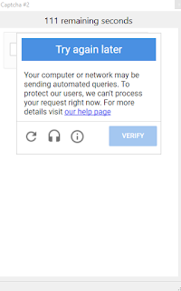 Your computer or network may be sending automated queries  To