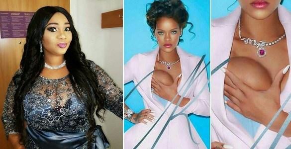 Hollywood Actress Jaiye Kuti Reacts To Rihanna's Dressing (Photos)
