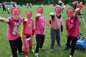 Stratenkorfbal  Toernooi Kinderen en prijsuitreiking 19--5--2017