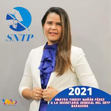 Omayra Mañán Candidata a Secretaria General SNTP declara de abusivo trato al Periodista Guazarero.