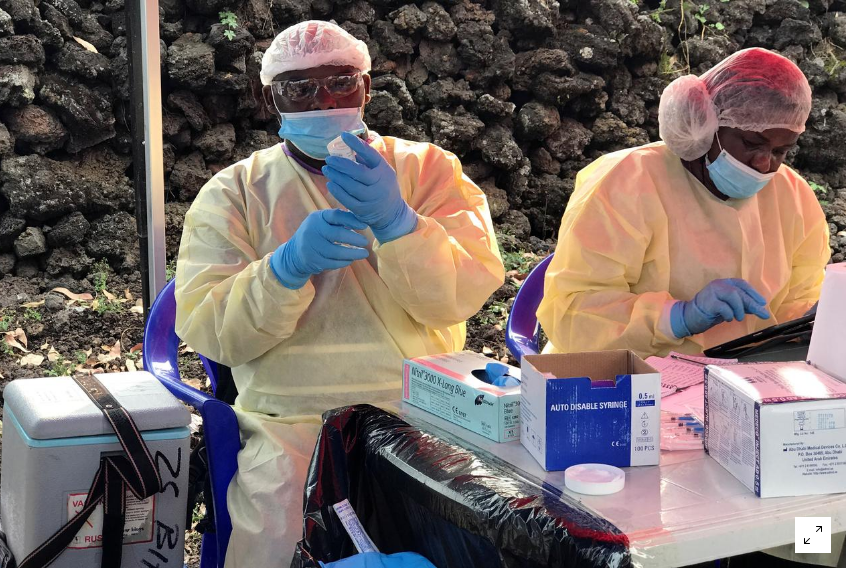 Ebola case reported in East and Central Africa. PHOTO   RMS