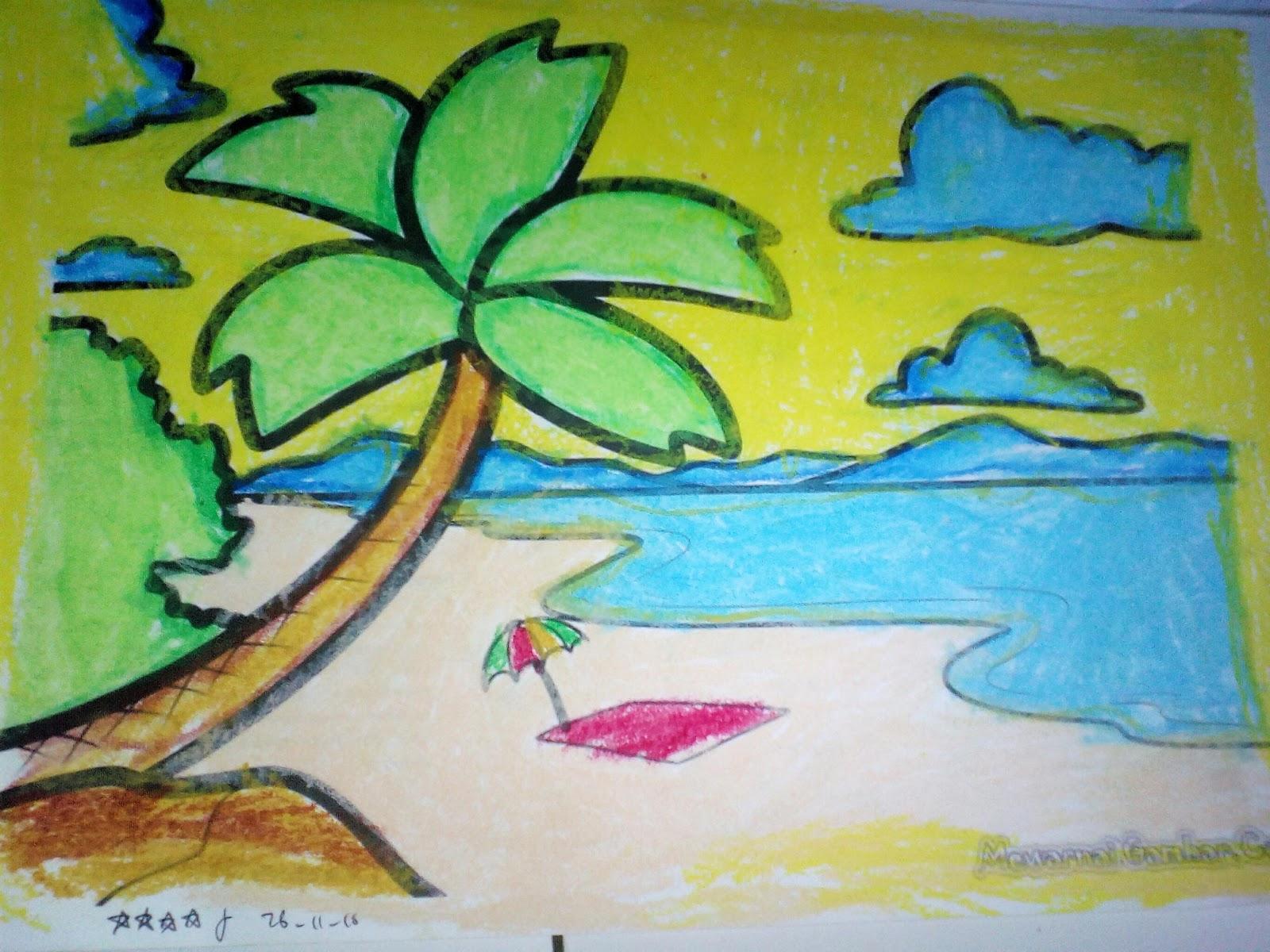 Mewarnai Pantai 2016 Tk Islam Miftahul Ulum Gumayun