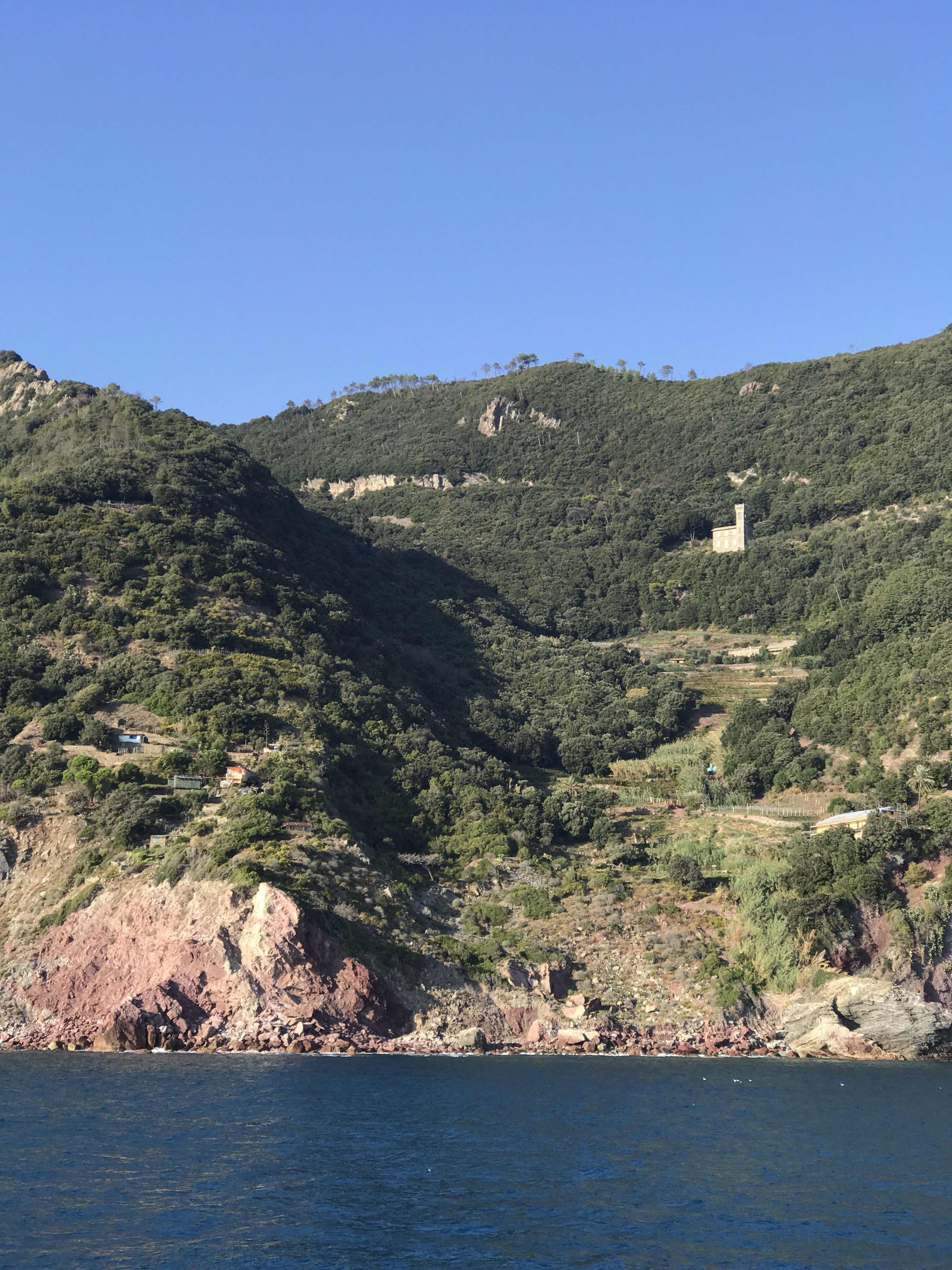 coastal hamlet