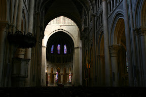 Interior of Lausanne Cathedral
