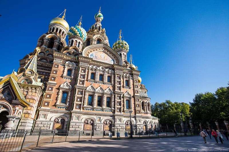 Essential Sightseeing St Petersburg - Church of the Saviour on the Spilled Blood