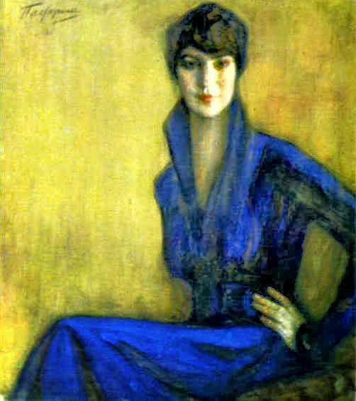 Leonid Pasternak - E. Levina 1916