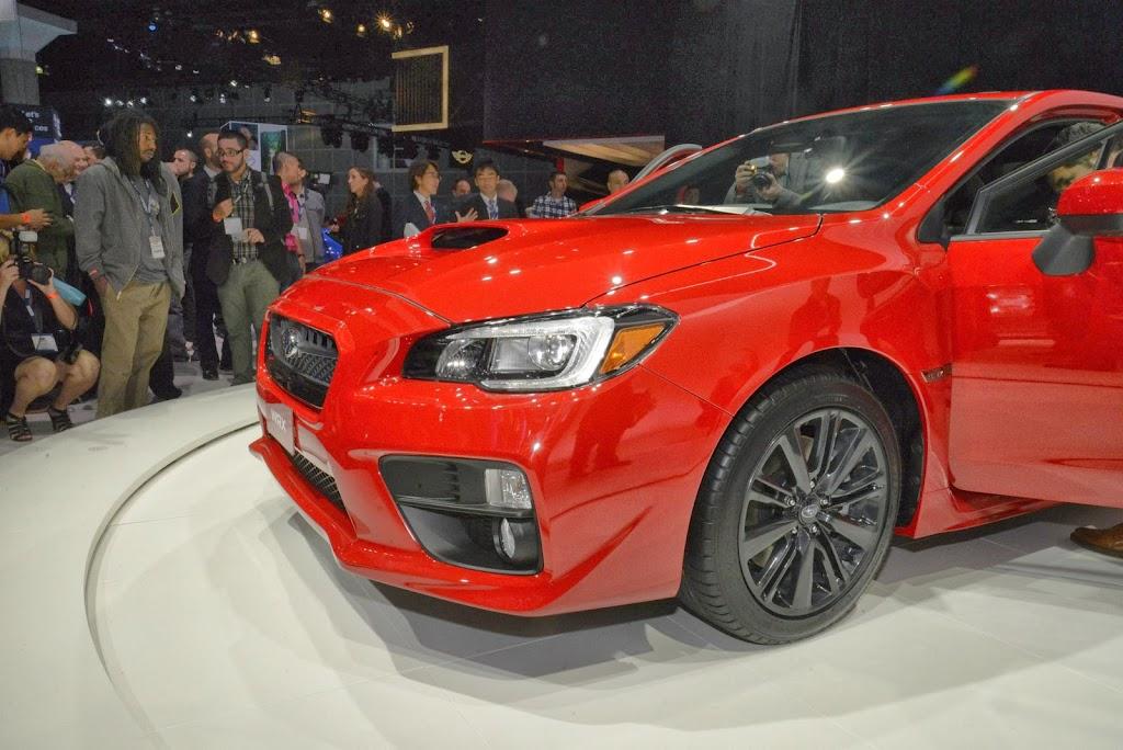2015 Subaru WRX Los Angeles Auto Show 3