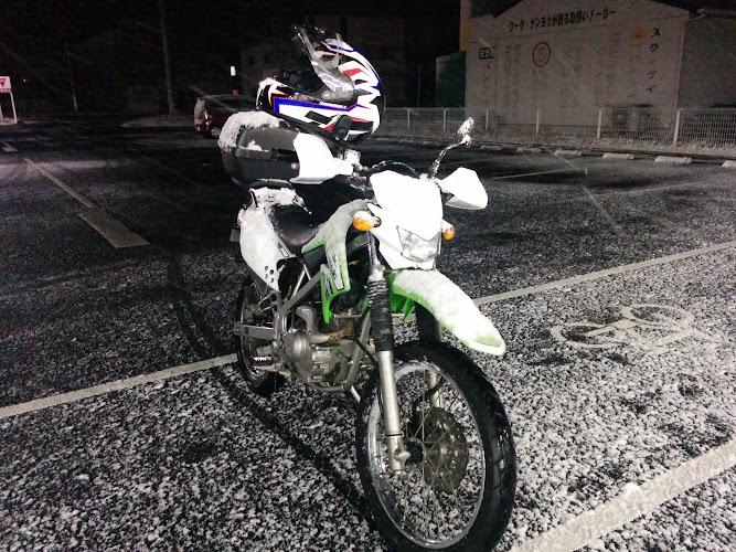 雪だるまバイク