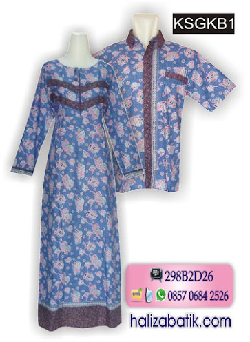 model baju sarimbit, baju muslim online, model baju batik terkini,
