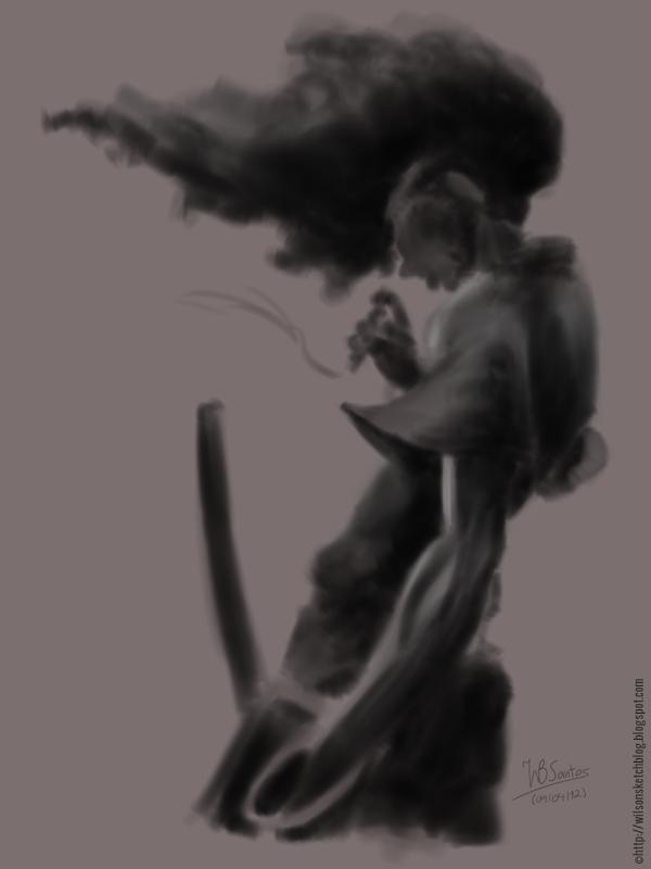 Afro Samurai (sketch)